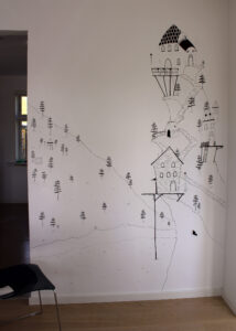 Drawing on the Wall